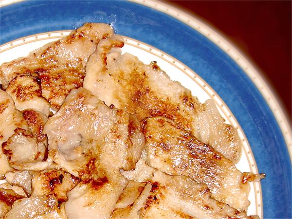 味噌漬け豚肉写真